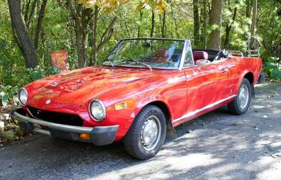 March 31, 2011 Fiat Spider Conversion Completed