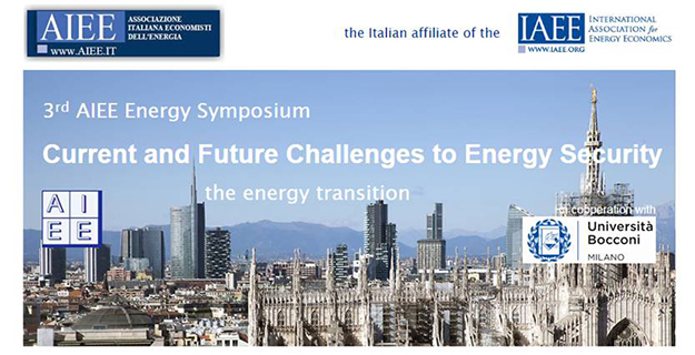 3rd AIEE Symposium on Energy Security