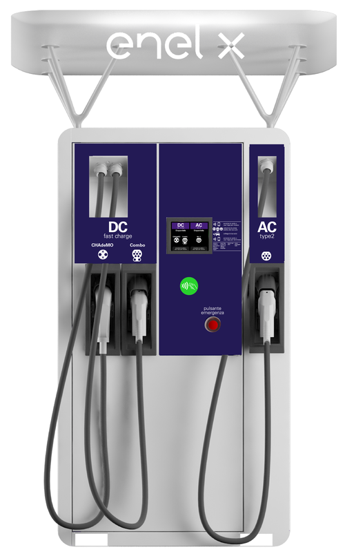 Enel X Fast Recharge Plus DC Rapid Charger