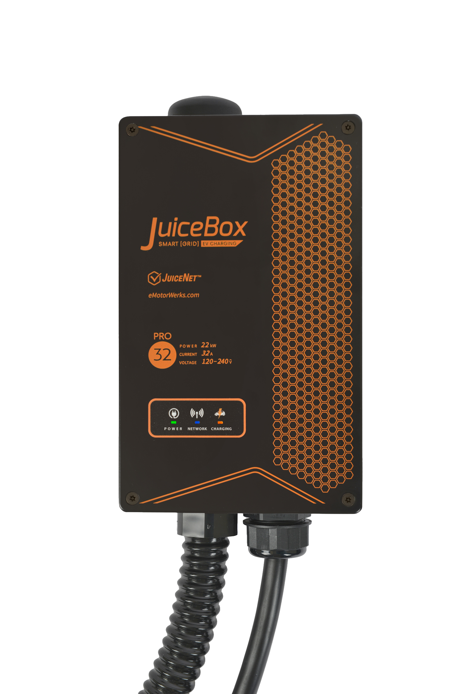 JuiceBox Pro 32 C - powered by JuiceNet Enterprise - 22 kW Charging Station for Commercial use