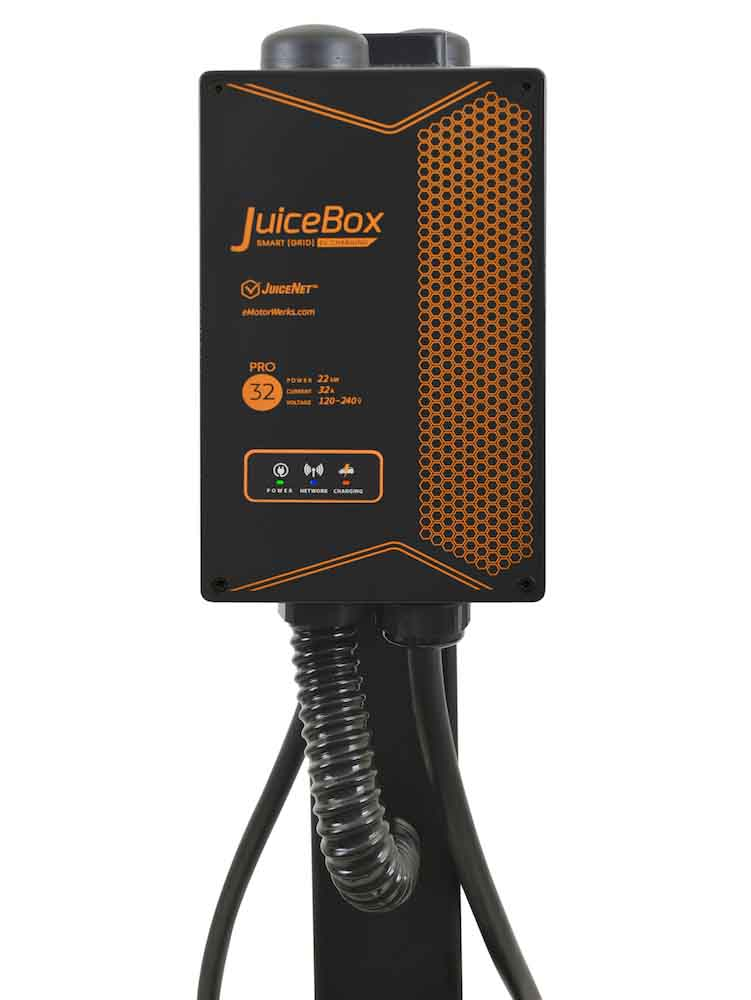 JuiceBox Pro 32 C - powered by JuiceNet Enterprise - 22 kW Wallbox for Commercial use