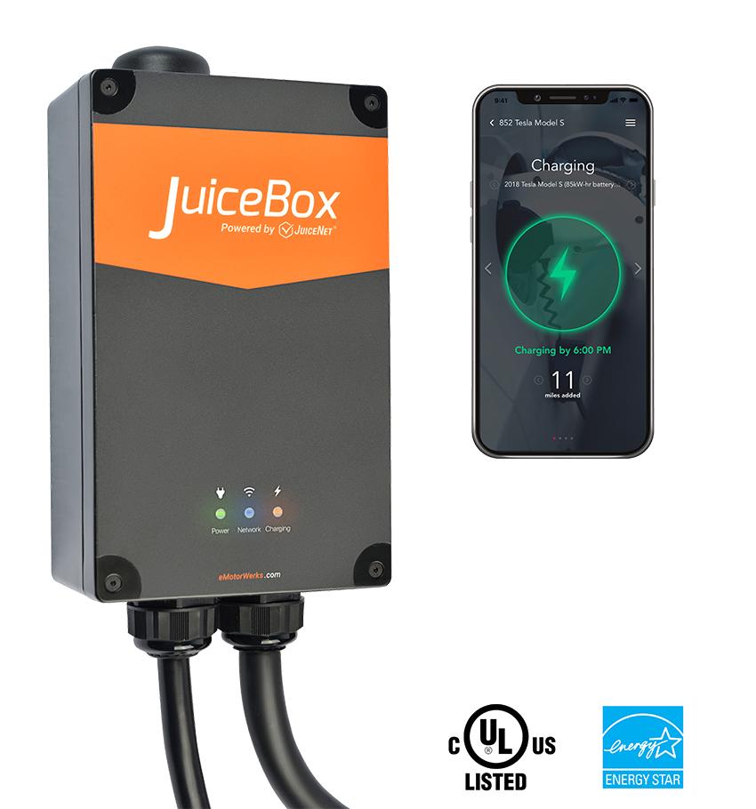 Level 2 EV Charger & Charging Station - JuiceBox | Enel X