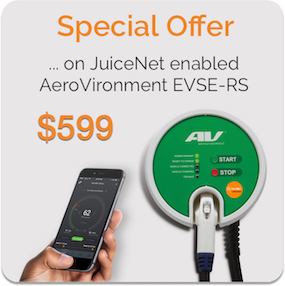 Special offer on AeroVironment EVSE-RS