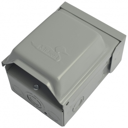Rainproof outdoor outlet, image 2